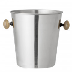 COCKTAIL WINE COOLER SILVER 27X21,5X21CM
