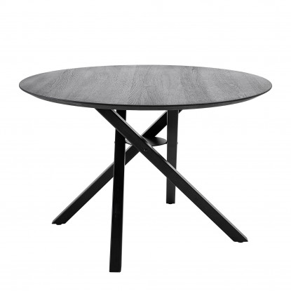 CONNOR DINING TABLE Ø118xH77CM