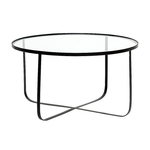 HARPER COFFEE TABLE Ø80x43CM