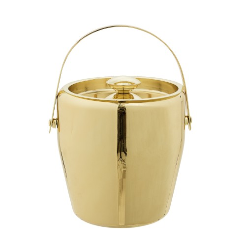 GOLD ICE BUCKET Ø19x20CM