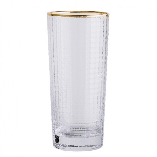GOLDEN DRINKING GLASS Ø6,5X13,5CM