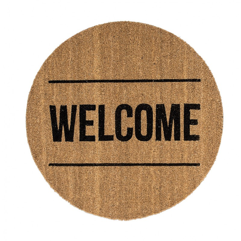 WELCOME DOORMAT Ø70CM