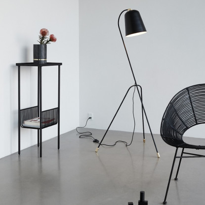 CONSOLE TABLE,METAL 43x30xH93CM
