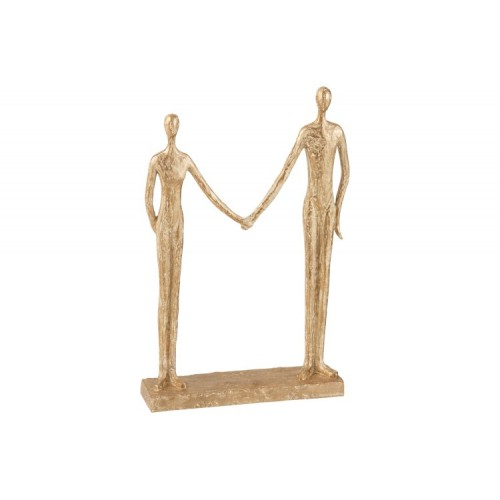 COUPLE HAND IN HAND 24X7,5X38,5CM