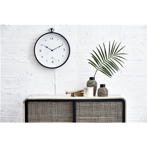 CLOTILDE CLOCK BLACK