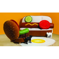 HOT DOG SOFA 180X115CM
