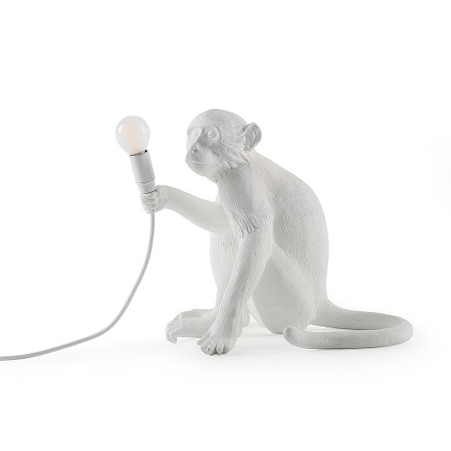 THE MONKEY LAMP SITTING VERSION 34X30X32CM