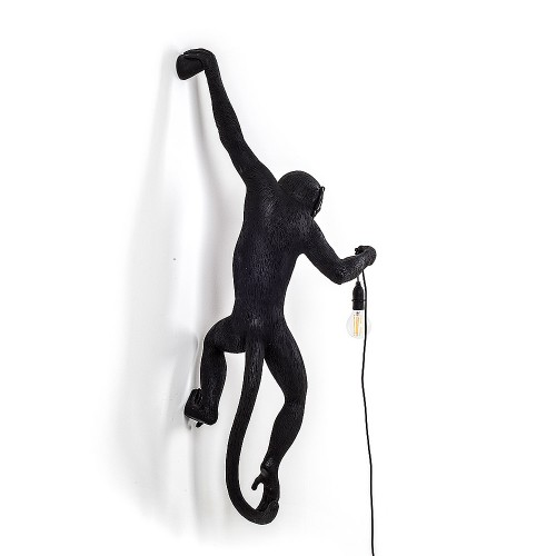 THE MONKEY LAMP BLACK HANGING VERSION 37X20,5X75CM