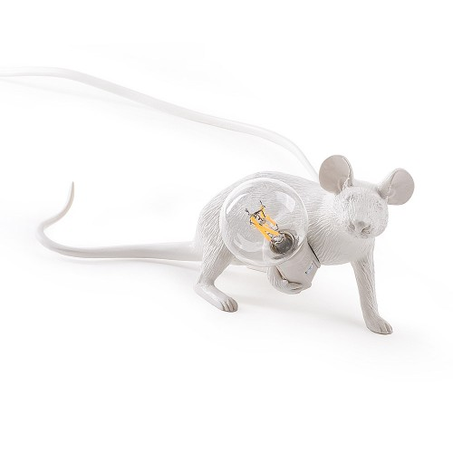 THE MOUSE LAMP LYIE DOWN 21X6X8CM