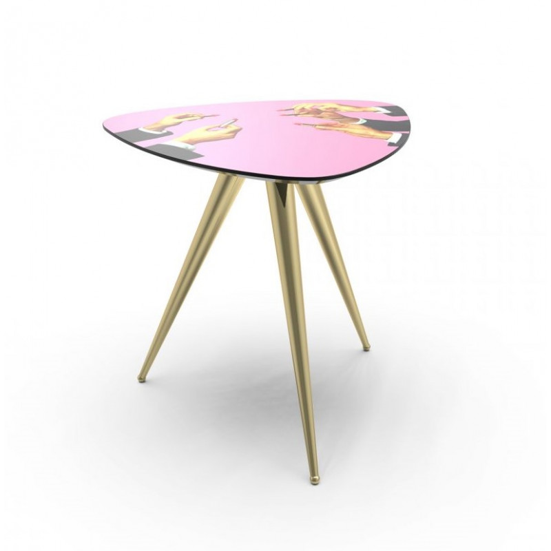 SIDE TABLE LIPSTICKS 57X48CM
